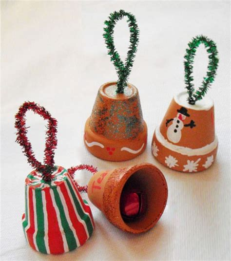 christmas bell ornaments inexpensive holiday activity