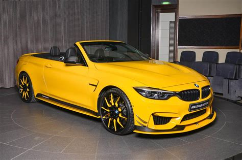 bmw  convertible  speed yellow spotted  dubai