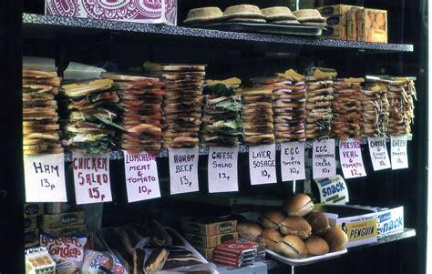 sandwiches  sale london  flashbak