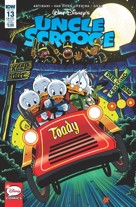 uncle scrooge  idw publishing