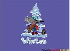 HD Hintergrundbilder Wolf, Winter, Tannenbaum, Schnee