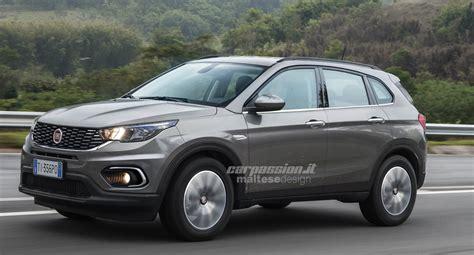 ProjeÇÃo Novo Suv Da Fiat 2019 Será Baseado Na Plataforma