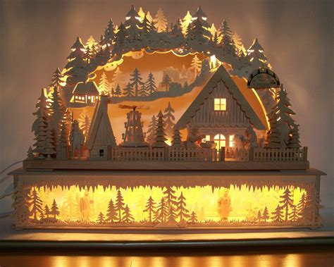 beautiful traditional german christmas decoration