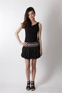 Bubble Mini Skirt- Women's Fashion, Skirts - bijou World