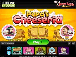 jeux de cuisine de papa louie papa s cheeseria un des jeux en ligne gratuit sur jeux