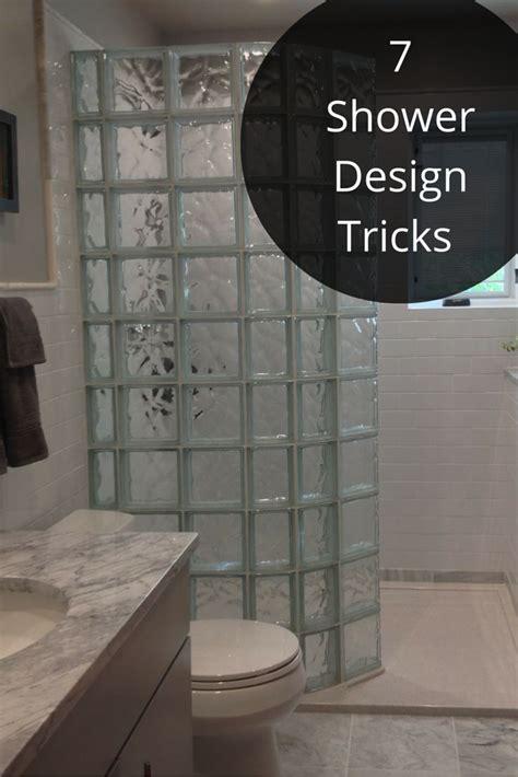 Glass Block Bathroom Designs by Best 25 Glass Block Shower Ideas On Small