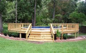 above ground pool deck gallery above ground pool deck idea someday ground