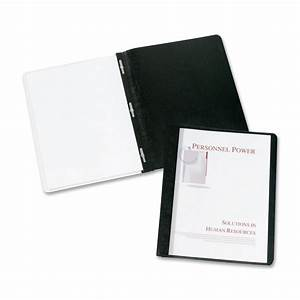 coated paper clear front report cover avery dennison 47960 With clear document covers