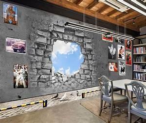 3d wallpaper for room 3D stereoscopic creative wallpaper ...