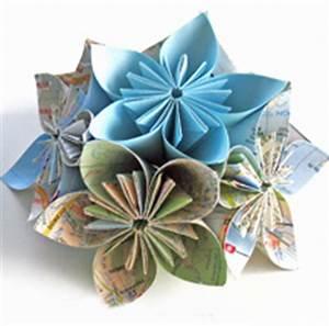 creer des fleurs en origami idee creativeidee creative With chambre bébé design avec abonnement livraison bouquet de fleurs