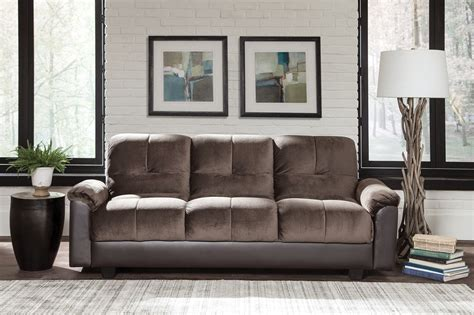 Chocolate Brown Sofa Bed From Coaster Coleman Furniture