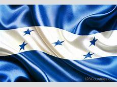 National Flag Of Honduras 123Countriescom