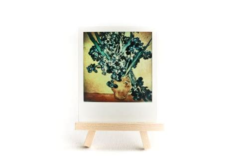 Home Interior Iris Picture : Van Gogh, Still Life With Iris, Polaroid Picture, Home And