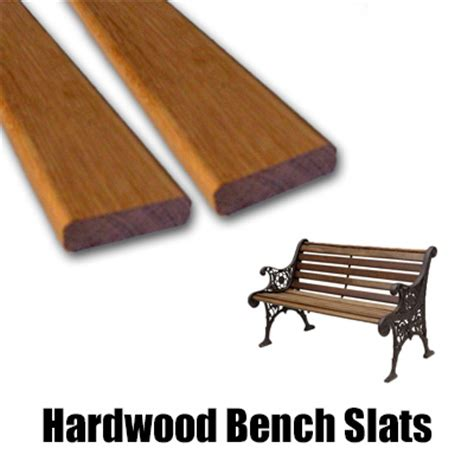 Replacement Hardwood Bench Slats  Chiltern Timber