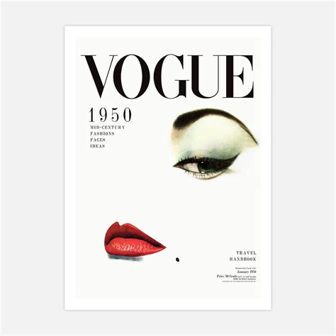 vogue cover wall art poster  framed print