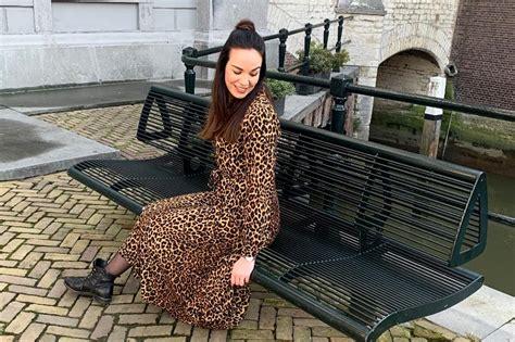 outfit leopard dress facebeauty