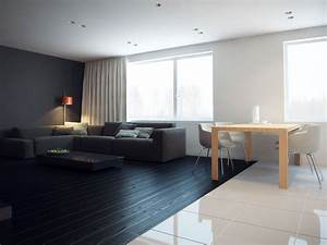 q2 apartment by modom keribrownhomes With rooms with black floors