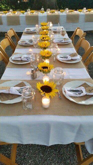 25 best ideas about sunflower table arrangements on sunflower centerpieces