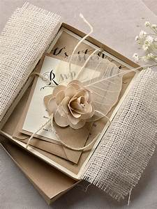top collection of box wedding invitations theruntimecom With diy wedding invitations in a box