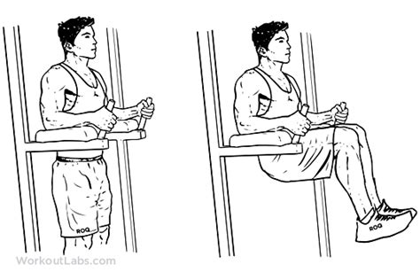 captain s chair leg knee hip raise illustrated exercise guide workoutlabs