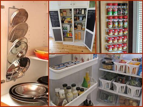 Kitchen Pantry Cabinet Ideas - diy kitchen organization tips home organization ideas youtube