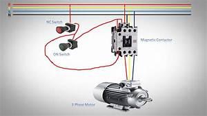 Wiring Diagram For 3 Phase Motor Starter