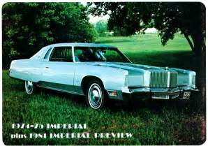 chrysler imperial wpc news article