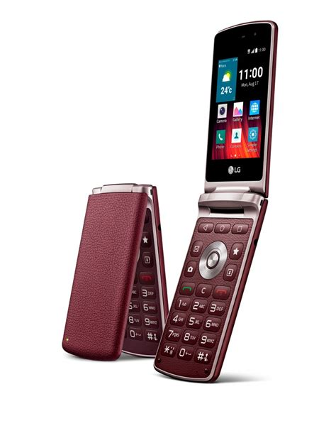 flip phone android new lg wine smart delivers smartphone features with