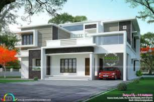 Flat Roof Type Design Houses