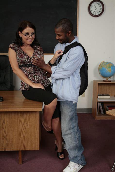 Brunette Busty Teacher And Her Black Studen Xxx Dessert Picture