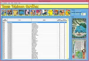 post printable pokemon checklist card