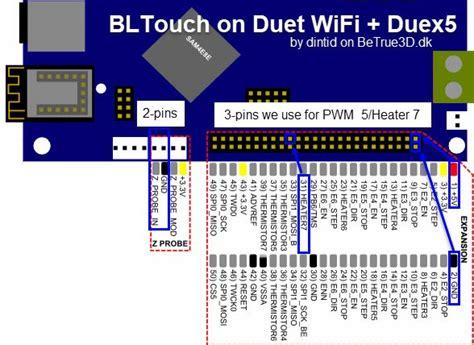 bltouch  duet wifi reprapfirmware betrued