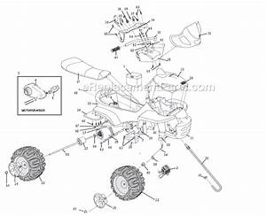 Power Wheels 73690-9993 Parts List And Diagram  26  04   Ereplacementparts Com
