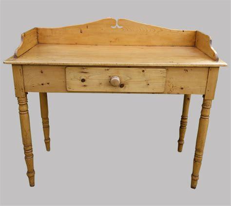 bureau en pin bureau ancien anglais en pin