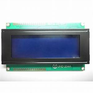 4x20 Lcd Display  Blue Backlight