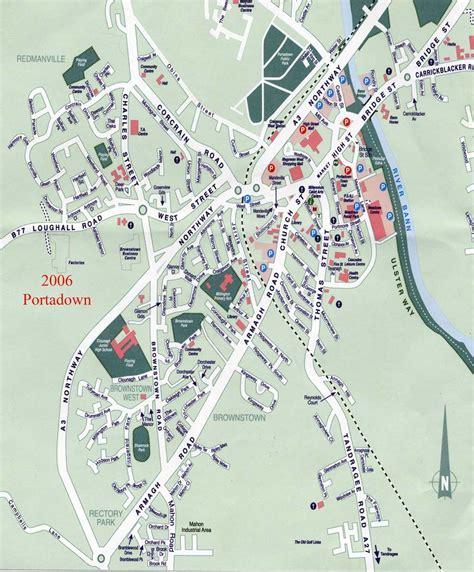 maps  portadown