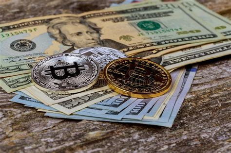 Bitcoin (₿) is a cryptocurrency invented in 2008 by an unknown person or group of people using the name satoshi nakamoto. The Concept Of Crypto Currency Bitcoin And Dollar Stock Image - Image of diagram, bitcoin: 100086429