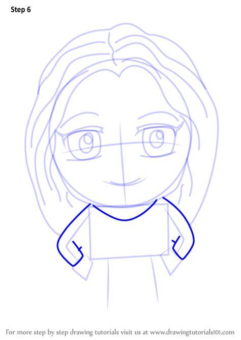 step  step   draw kawaii supergirl