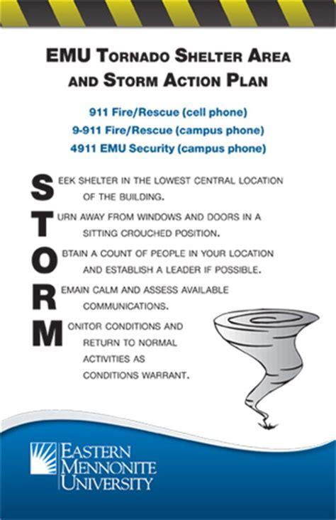 tornado emergency plan template tornado action plan