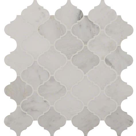 white arabesque tile greecian white arabesque pattern polished colonial