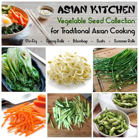 Kitchen Garden Varieties by Kitchen Garden Organic Vegetable Seed Collection