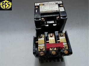 New Square D 8536sag12v02 Size 00 Magnetic Motor Starter