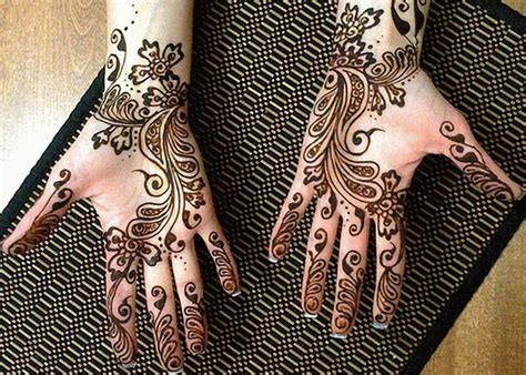 Arabic Mehndi Design - Hijab Trade Fashion