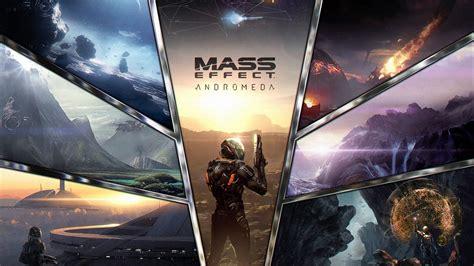 Wallpaper Mass Effect, Andromeda, 2017 Games, Pc, Ps4