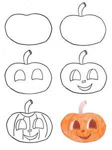 Easy to Draw Halloween Pumpkin