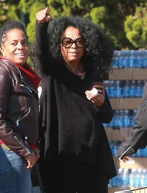 Diana Ross - Grocery Shopping at Bristol Famrs in West ...