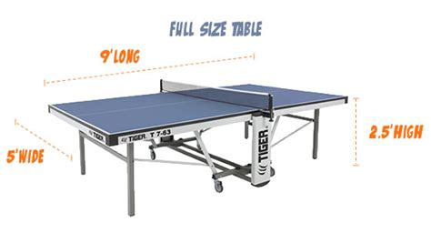 what are the dimensions of a table tennis table ping pong table sizes size of ping pong table ping pong room