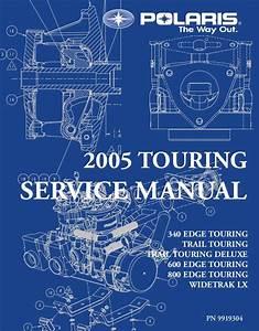 2005 Polaris 600 Edge Touring Snowmobile Service Repair Manual