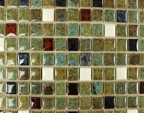 glass kitchen backsplash italian porcelain square mosaic tiles designs glazed 1227