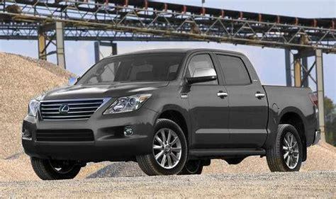 lexus pickup truck rumors specs  pickup trucks